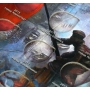 """Альбом-планшет для 10-рублевых стальных с гальванопокрытием монет, в том числе серии: """"Города воинской славы"""""""