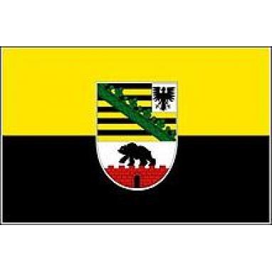 Флаг Саксонии-Анхальт