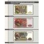 """Комплект листов для банкнот """"Билеты Государственного банка СССР с 1961 по 1991 гг."""""""