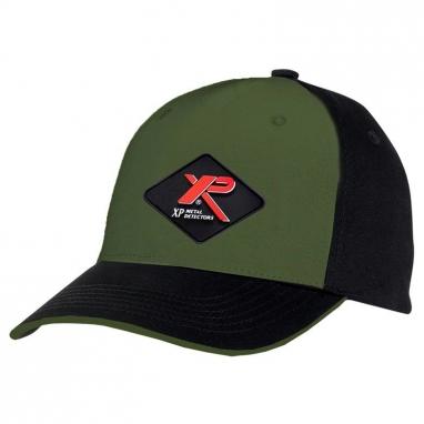 Кепка бейсболка Xp Metal Detector хаки/черный
