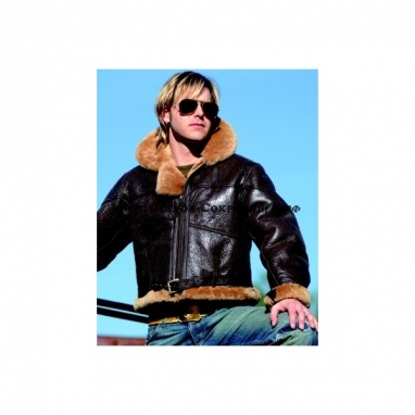Куртка пилота Британия Mil-tec, натур.овчина