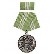 "Медаль ГДР MDI MEDAL ""F. FAITHFUL SERVICES"" SILB.10J. в упаковке новая"