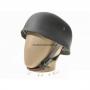 Точная копия стального шлема м38. Десантный шлем в зеленом окрасе.