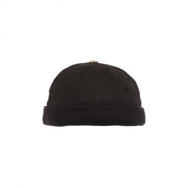 Кепка, шапка утеплённая без козырька, черная