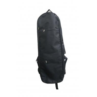Рюкзак кладоискателя, с отсеком для лопаты, черный