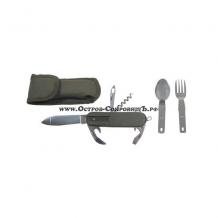 Карманный нож со столовыми предметами Max Fuchs