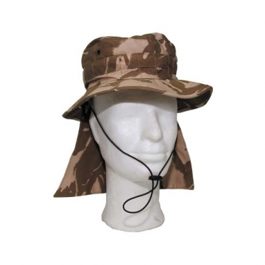 Панама армии Британии с защитой шеи, DDPM, новая, оригинал