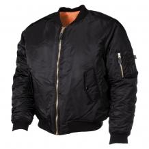 Куртка США Пилот МА1, чёрная, Max Fuchs (Германия)