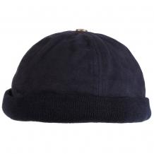Кепка, шапка утеплённая без козырька, синяя