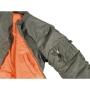 Куртка США Пилот МА1, олива, Max Fuchs (Германия)
