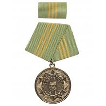 """Медаль ГДР """"F. FAITHFUL SERVICES"""" GOLD 15J. в упаковке новая"""