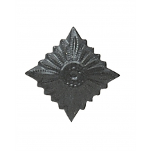 Защитного цвета ромб (звезда) на погоны армии ГДР