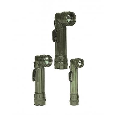 Угловой фонарик США, маленький (2AA), олива
