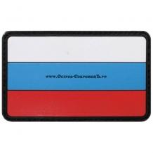 Флаг России велкро (на липучке), 3d, размер: 8 х 5 см
