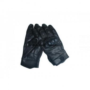 Перчатки кожаные Tactical Gloves Leder Schwarz