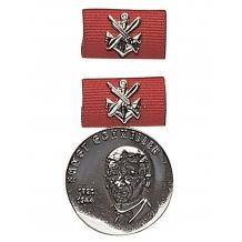 """Медаль ГДР GST MEDAL """"E. FASTER"""" SILVER в упаковке новая"""
