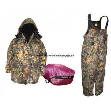 Зимний костюм охотника (куртка и полукомбинезон)