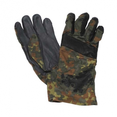 Тактические перчатки с кожаной отделкой bw, секонд