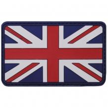 Флаг Великобритании велкро (на липучке), 3d, размер: 8 х 5 см