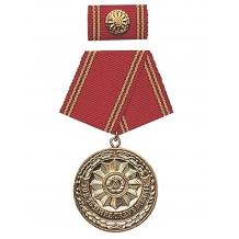 """Медаль ГДР MDI MEDAL """"F. FAITHFUL SERVICES"""" GOLD 25Y. в упаковке новая"""