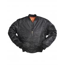 Куртка США Пилот МА1, чёрная, Mil-Tec (Германия)