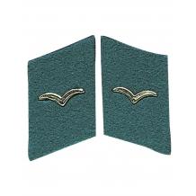 Петлицы армии ГДР NVA KRAGENSPIEGEL LSK SOLD.