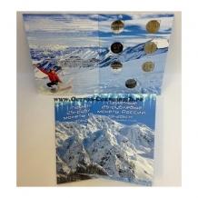 Альбом-планшет для памятных 25-рублевых монет посвященных О.И. 2014г. в сочи