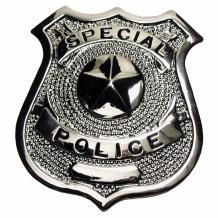 "Знак полиции США ""Special Police"", silber"