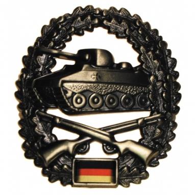 "Эмблема на берет BW ""Panzergrenadier"""