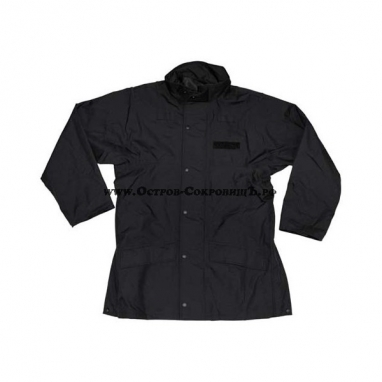 Непромокаемая куртка армии Британии чёрная