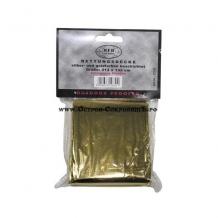 Спасательное одеяло золотистое/серебристое покрытие