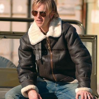 Куртка пилот B3 Cша из овчины Mil-Tec (Бомбер)