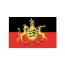 Флаг WÜRTTEMBERG M.WAPPEN