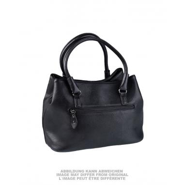 Женская (дамская) сумочка армии Бундесвер BW новая, оригинал, чёрная, натуральная кожа.