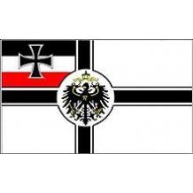 Флаг Имперского флота Германии